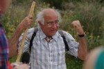 Helmut unser Wanderführer auf Lefkas
