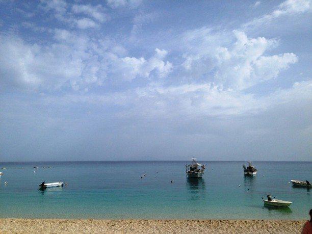 Bucht von Agios Nikitas auf Lefkas