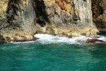 Felsformationen auf dem griechischen Festland